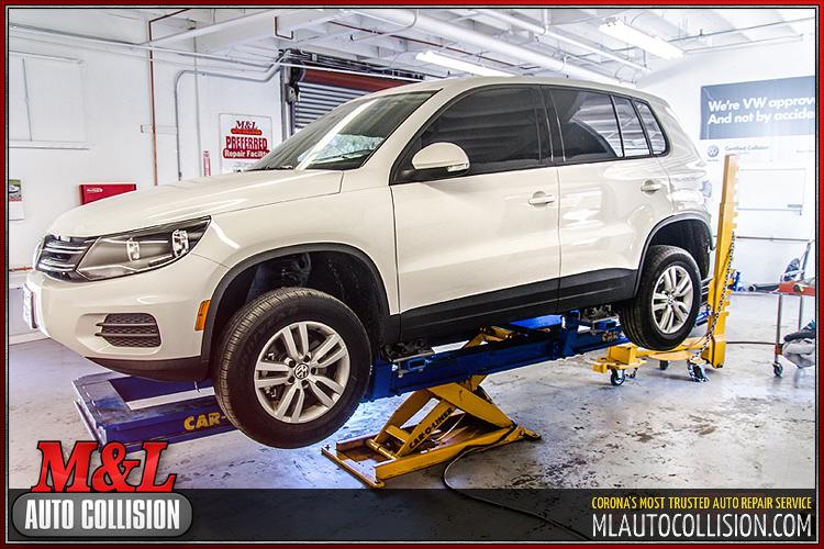 Gallery ML Auto Collision Repair Shop Serving Corona Norco - Volkswagen collision repair